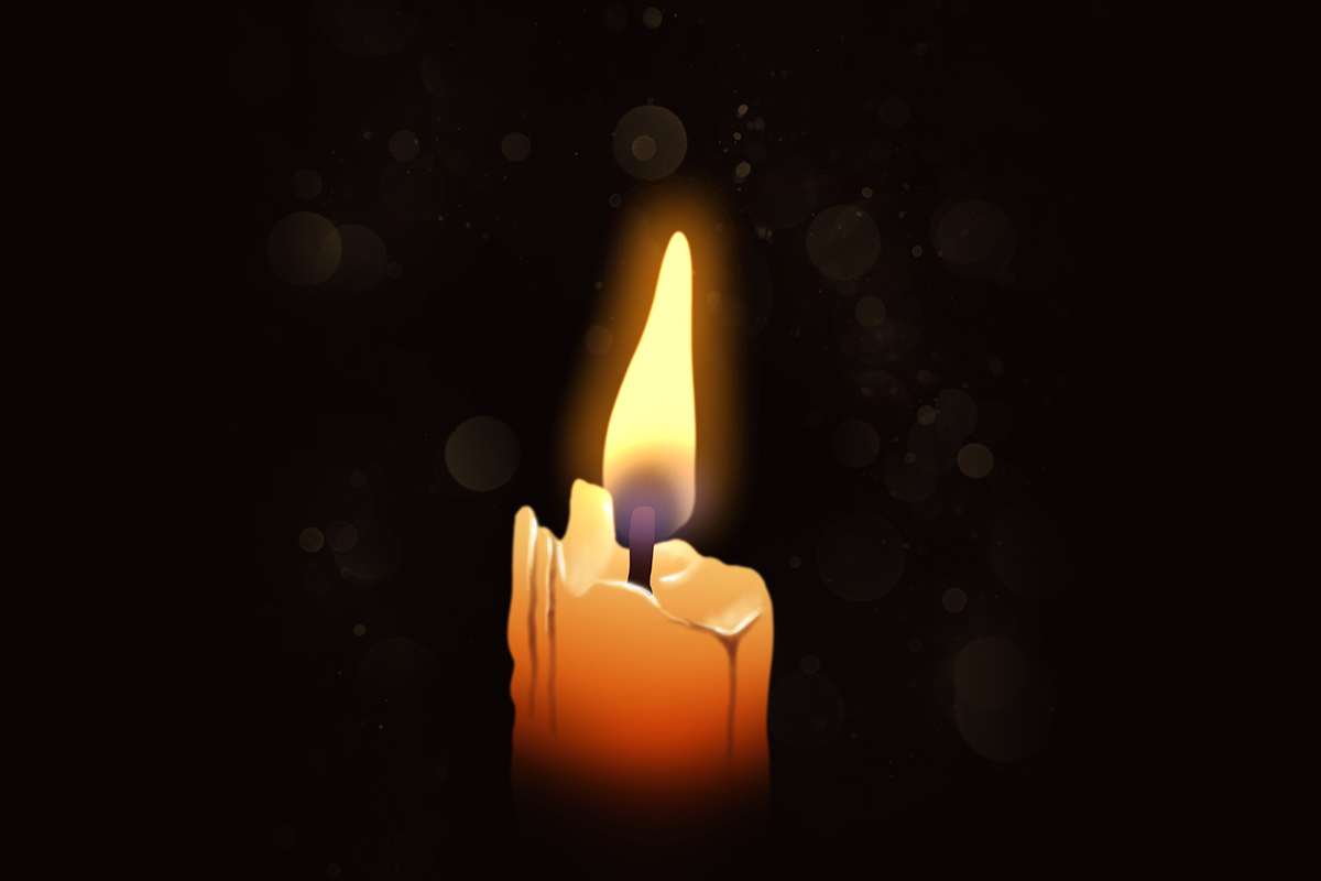 Easy Drawing Tutorial - You can draw a candle! -